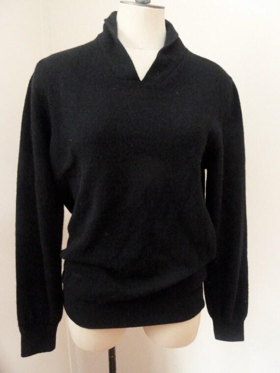Vintage Margiela Shawl Collar Sweater S/M