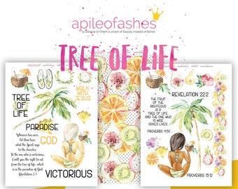 Tree of Life Bible Journaling Digital Download Printable