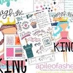 Daughter of the King Bible Journaling Digital Download Printable