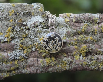 Tiny Queen Anne's Lace Necklace