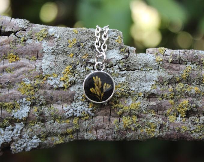 Tiny Goldenrod Necklace