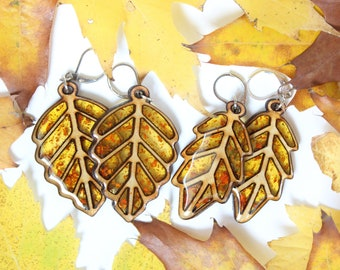 Limited Edition: Leaf Earrings