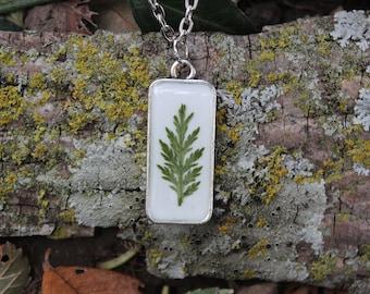 Fern leaf Necklace 3