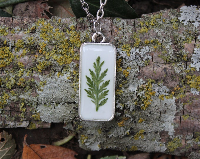 Fern leaf Necklace 3