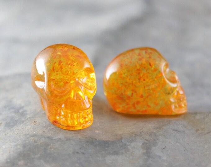 Marigold Skull Pocket Token