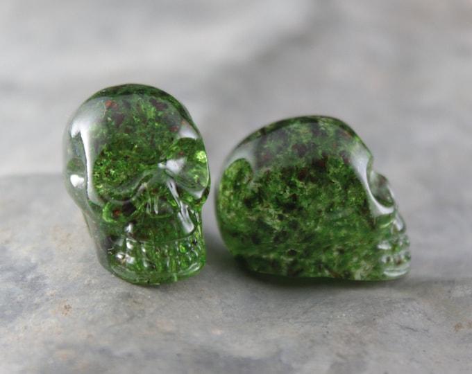 Moss Skull Pocket Token