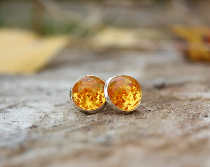 Special Edition: Large Fall Marigold Studs