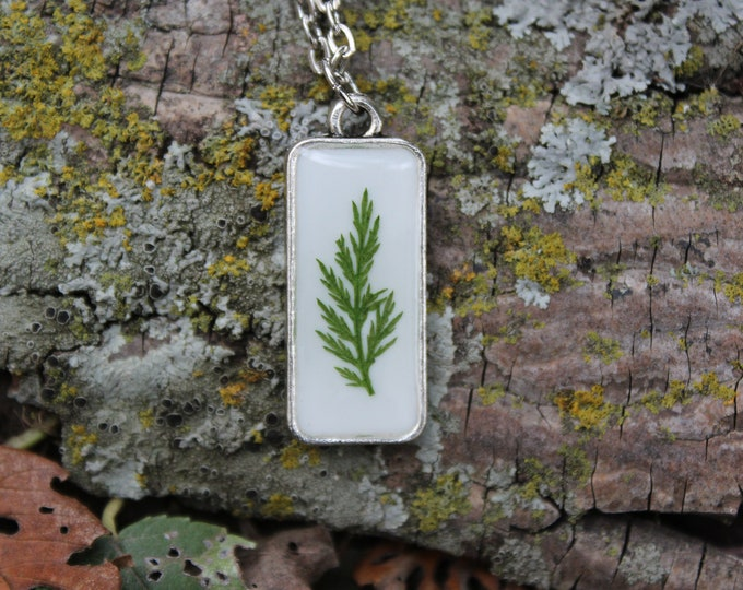Fern leaf Necklace 2