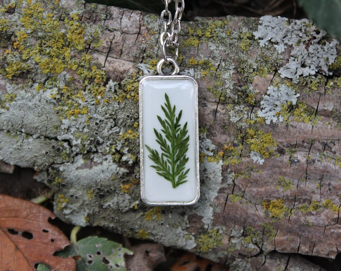Fern leaf Necklace 1