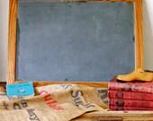 SOLD Vintage Classroom Slate Chalkboard