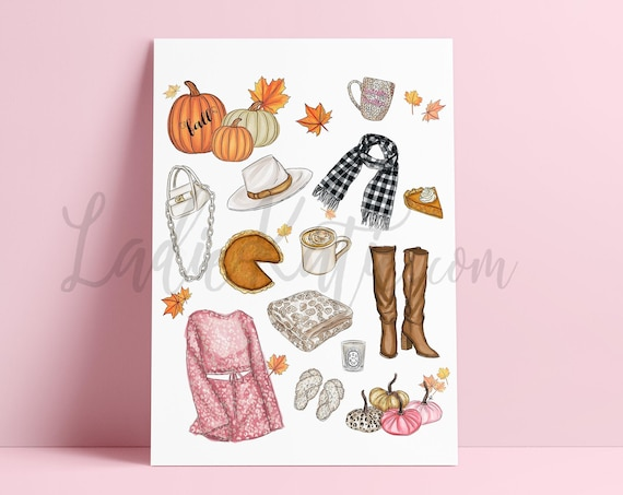 fall favorites, fall art, fall print, it's fall y'all, PSL, barefoot blanket, pumpkin spice latte, leopard, gifts for her, halloween