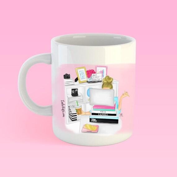But first coffee, GIRLBOSS mug, personalized mug, girl boss mug, coffee lover, girly mug, custom mug, boss mug, gifts for her