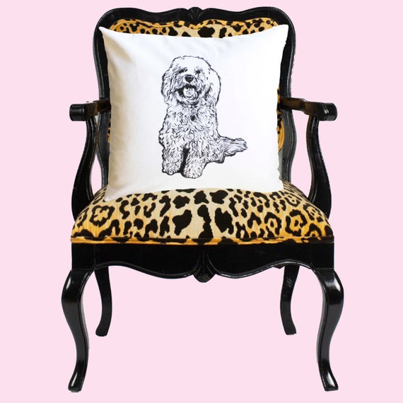 Custom Pet Portrait Pillow, Pet Pillow, Dog Portrait Pillow, custom pillow, dog pillow, dog portrait, pooch pillow, dog lover pillow