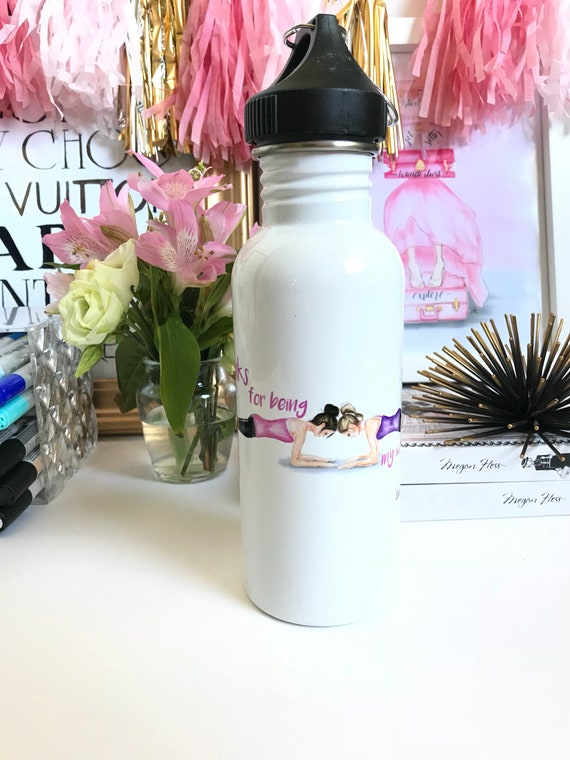 Best friends water bottle, best friends, besties water bottle, girly water bottle, gifts for her, workout buddies, bff gift