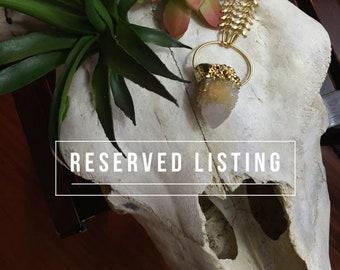 Reserved Listing for  rashminishar