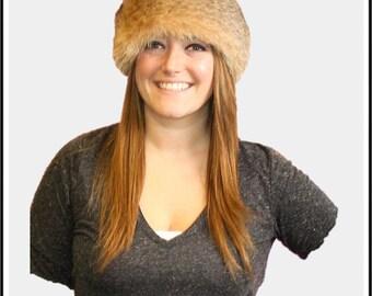 Glacier Wear Bobcat Fur Headbands Neck Warmers Collars 0b4162da208e