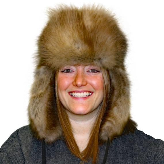 Glacier Wear Sable Fur Russian Trooper Style Hat hts1120a  e0e0bf280ffb