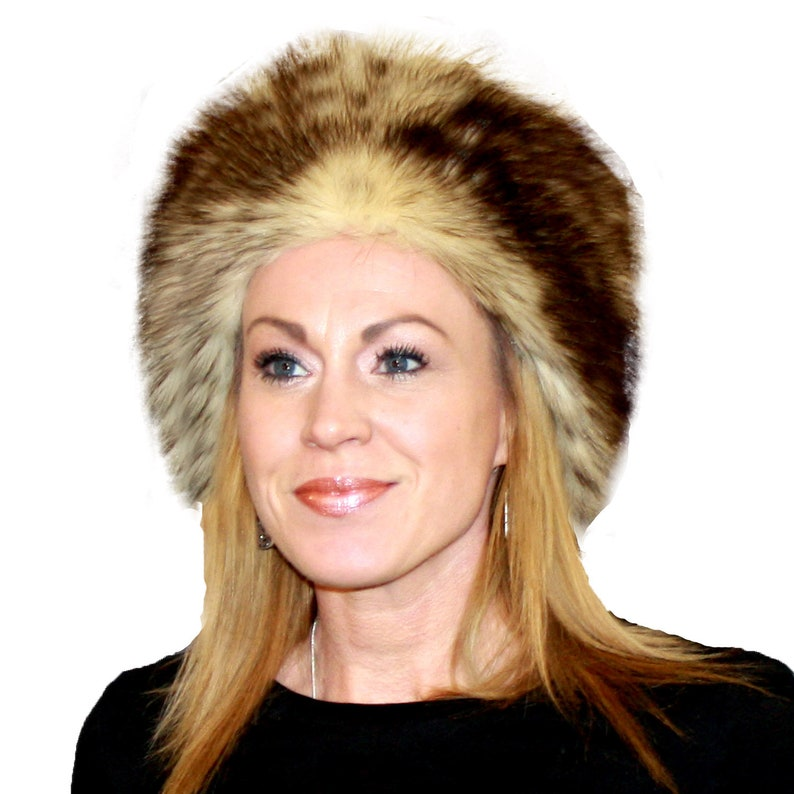 3eeb0f3c8b859 Glacier Wear Polar Dyed Raccoon Fur Pill Box Hat hts1566