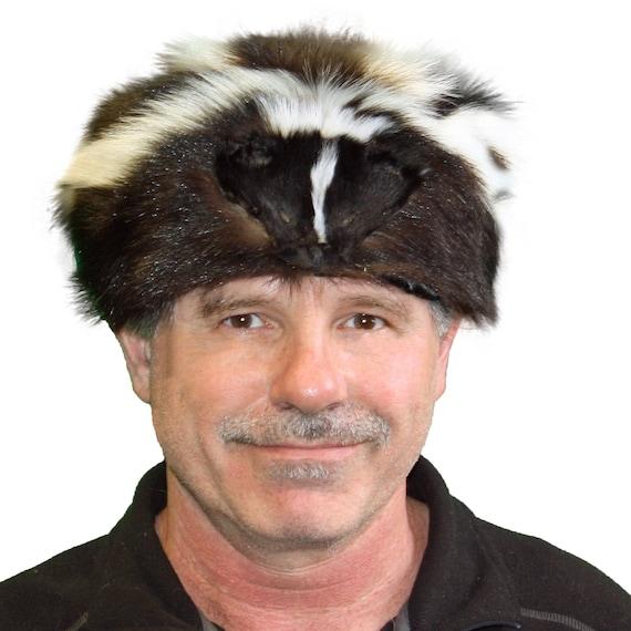 Glacier Wear Skunk Fur Davy Crockett Hat hts1785  4eeeecc30250