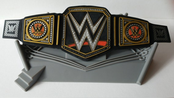 WWE CHAMPIONSHIP RING Cake Topper includes cupcake pick birthday