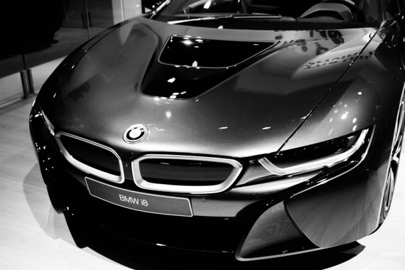 Bmw I8 Sports Car Photos Master Bedroom Wall Decor Wall Etsy