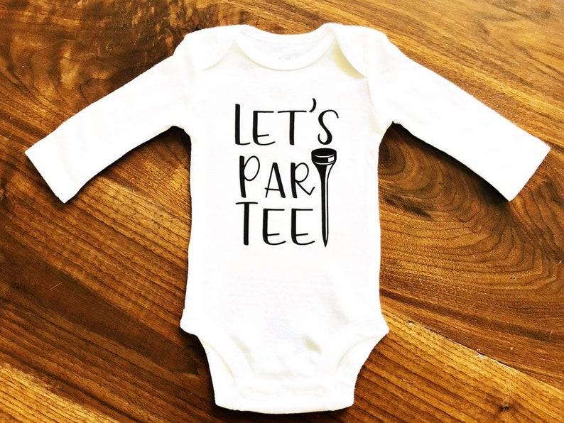 a168e80de4cba Golf Baby Shirt| Baby Golf Onesies® | Let's ParTee |Party Baby | Baby  Shower | Funny Baby Bodysuit Let's Par Tee | Master's Shirt