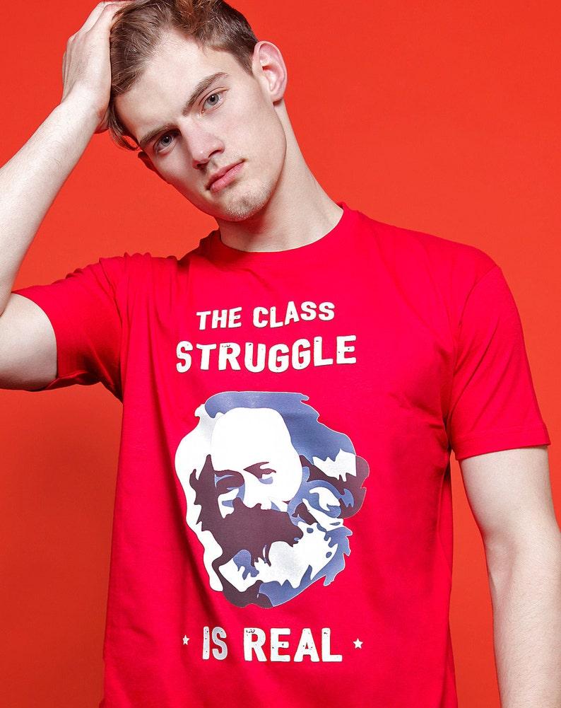0ebb55f3314a ALLRIOT Class Struggle is Real Funny Karl Marx Political | Etsy