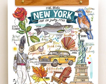 New York State Print.