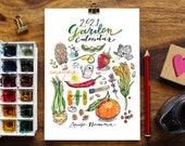 2021 Garden Calendar.  5x7.