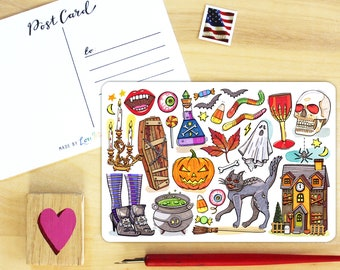 Halloween Postcard.
