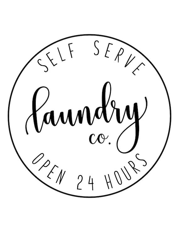 Laundry Room Printable Laundry Room Sign Decor Laundry Co Etsy