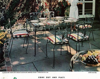 Salterini Patio Set - pick up only or buyer arranges shipping!