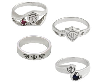 CTR (Choose The Right Ring) Ring Sterling Silver