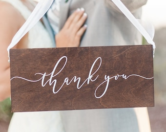 Jane Collection Wedding Thank You Signs