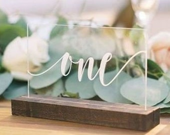 Table Numbers Wedding.Table Numbers Etsy