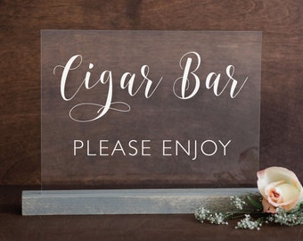 Makes a Great Whiskey and Cigar Bar Decor Under $20 Durable Metal Sign Metal Sign 8 x 12 Use Indoor//Outdoor Whiskey /& Cigars