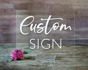 Acrylic Wedding Sign   Custom Acrylic Wedding Sign   Custom Wedding Date Sign   Welcome Wedding Signs   Wedding Welcome Sign - SCC-121