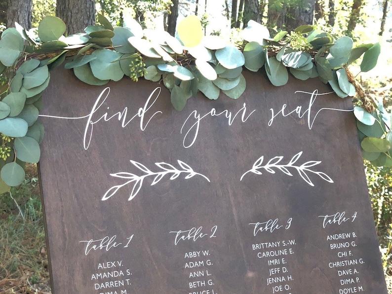Rustique Bois Floral Personnalisé Fête D/'Anniversaire bunting