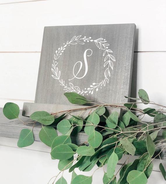 Cook Book Holder Wooden Cookbook Stand Ipad Stand Wood Personalized Cookbook Stand Personalized Recipe Holder Kitchen Tablet Stand