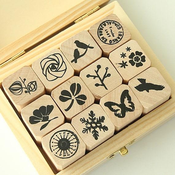 Large Message Stamp Filofax Bow \u2013 WF00778 Cardmaking Wood Rubber Stamp Planner Stamp