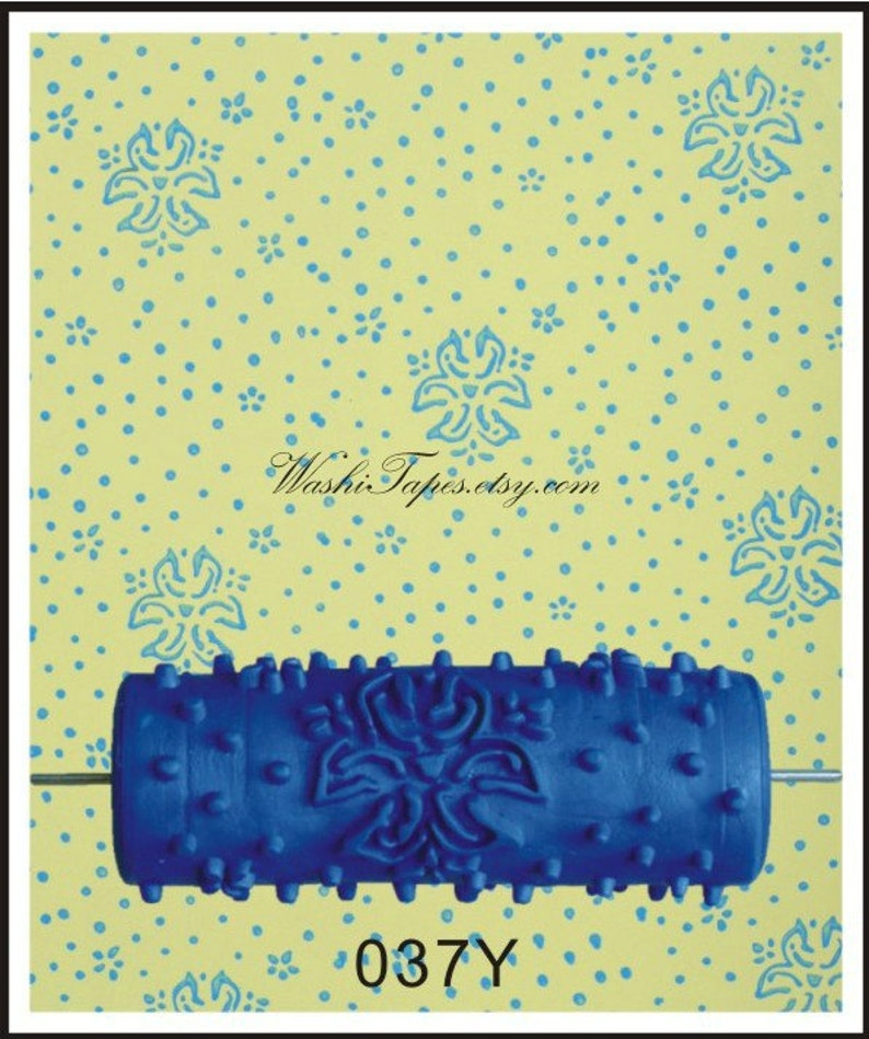 Patterned Paint Roller Wall Painting Roller Wall Cover Embossing Roller Wf01200