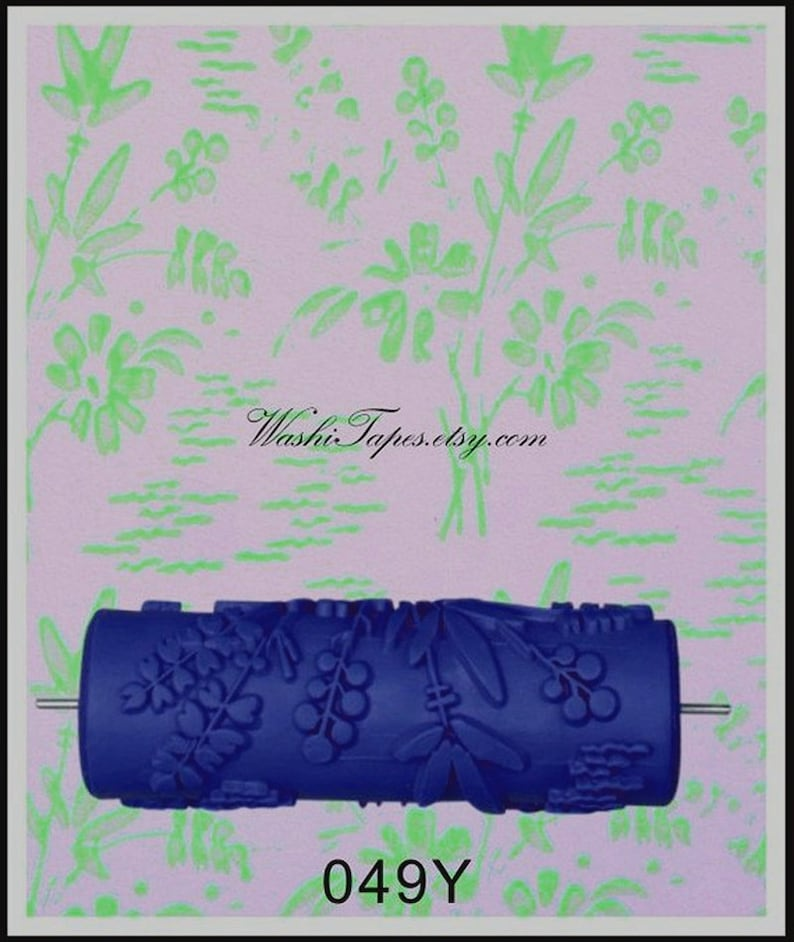 Patterned Paint Roller Wall Painting Roller Wall Cover Embossing Roller Wf01153