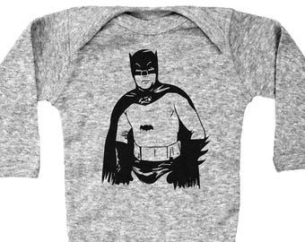d75465735 Batman Inspired Onesie, Old School Batman, Super Hero Onesie, Batman Baby  Romper, Batman Bodysuit, Unisex Baby Onesie, Superhero Onesie