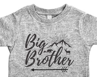Big Brother Shirt, Big Brother, Tee for Big Brothers, Pregnancy Announcement Boys Tee, Big Brother Tee, Big Brother Tshirt, Big Brother