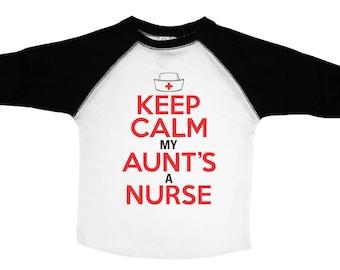 My Aunt in Mississippi Loves Me Toddler//Kids Raglan T-Shirt