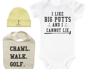 Baby Golf Bodysuit Bundle c0815ff6a62