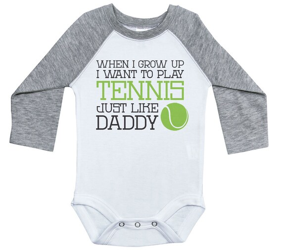 My Daddy Loves Me not Tennis Personalised Baby Bib Funny Gift Clothing Present