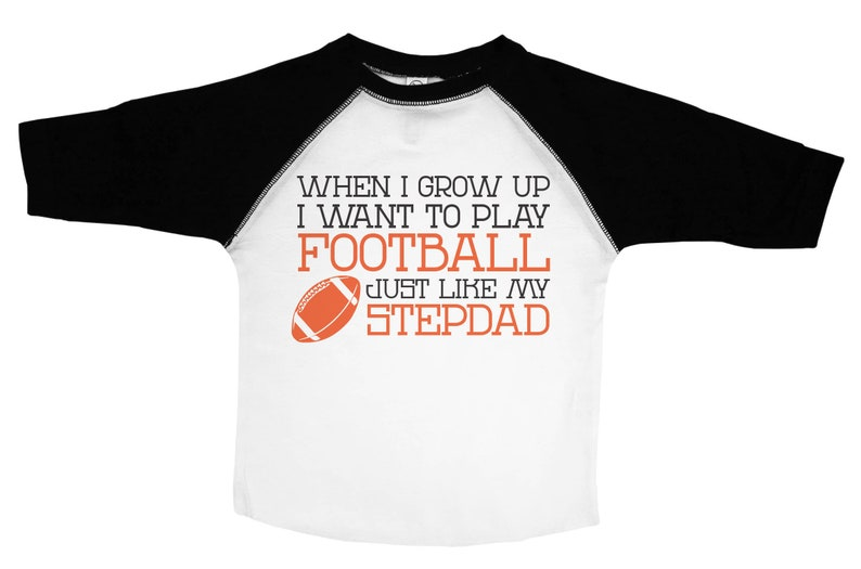 aeae2a04 Stepdad Shirt For Kids When I Grow Up Like My Step Dad   Etsy