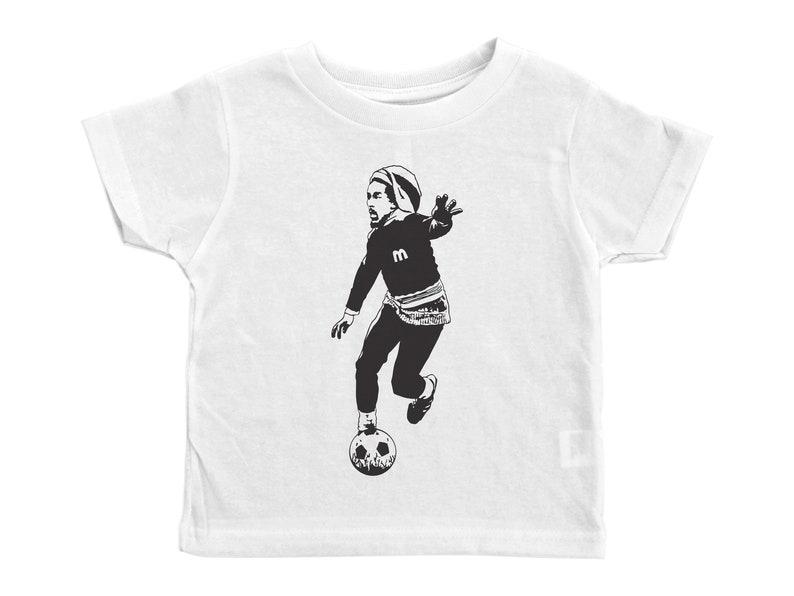 500c05ebb Bob Marley Soccer Shirt Marley Kids Tee Toddler Marley Tee