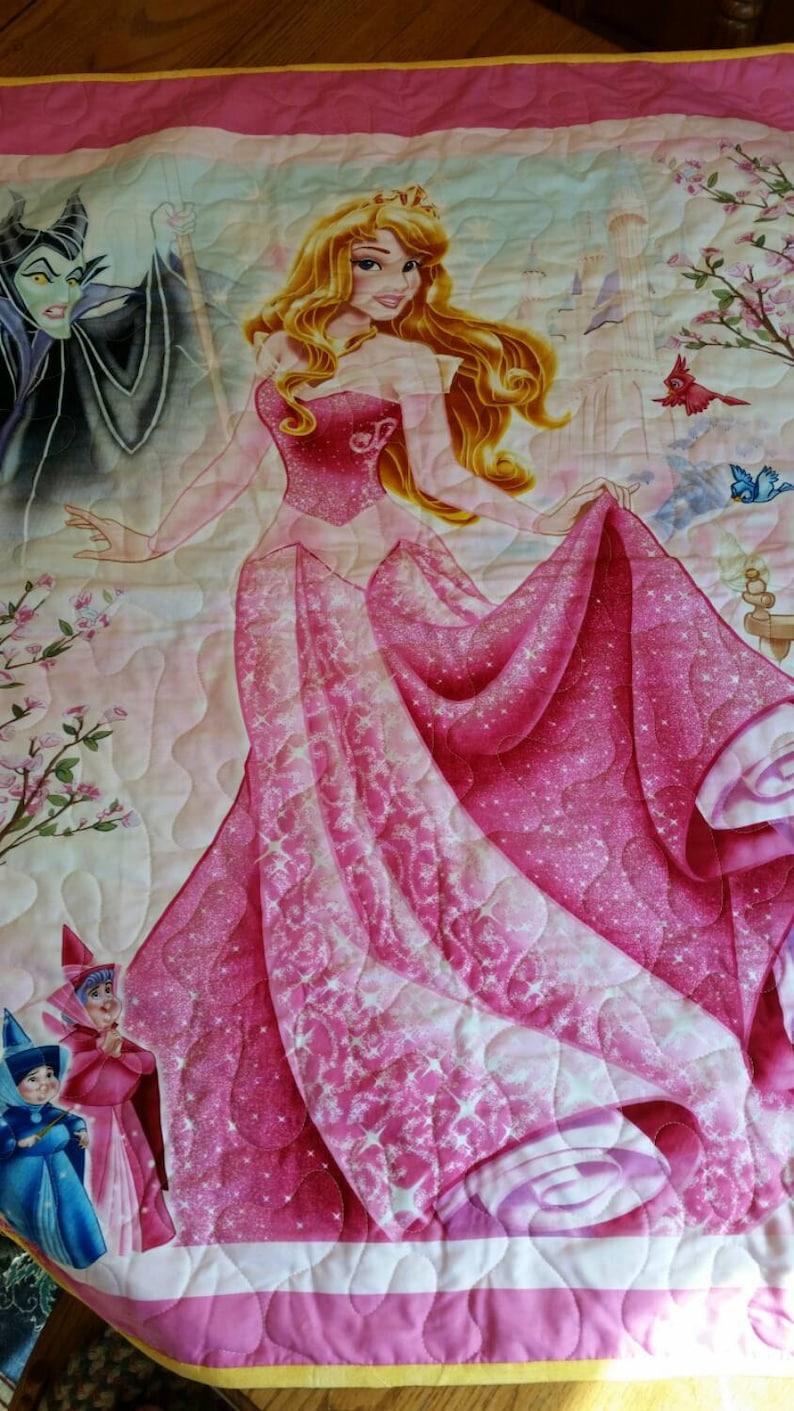 Sleeping Beauty Evil Witch Prince Charming DIsney Theme Crib Nursery DIsney BIrthday Crib TOddler Cot Bright Colors Classic New Baby Gift